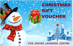 driving lesson gift vouchr