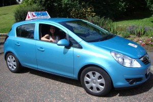 female driving instructor dunfermline